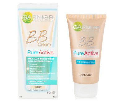 GARNIER Miracle Skin Perfector Daily All in One BB Cream LIGHT  SPF 15 50ml