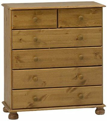 Steens Richmond 4+2 Pine Chest of Drawers