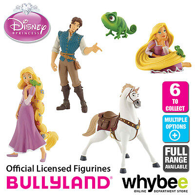 Official Bullyland Disney Rapunzel Figurines - 6 Cake Topper Figures to Collect!
