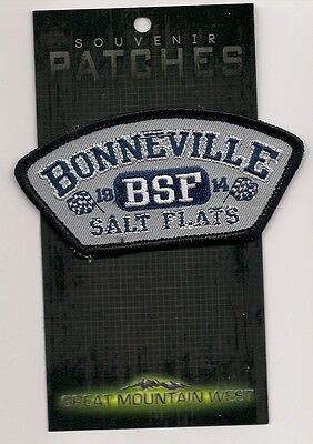 Souvenir Patch - Bonneville Salt Flats Utah
