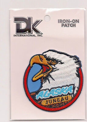 Souvenir Patch - City Of Juneau, Alaska - Eagle