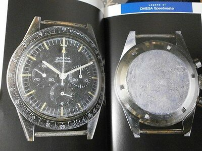 FREE SHIPPING!! OMEGA SPEEDMASTER Rare Watch Guide MASTER BOOK