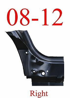 08 12 Ford Escape Right Front Dog Leg Panel, Mazda Tribute, Mercury Mariner