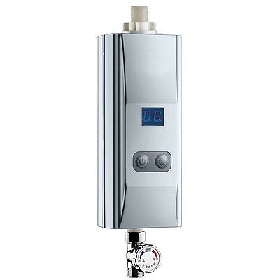 Portable Bathroom Tankless Instant Hot Water Heater Kitchen Electirc Hot System