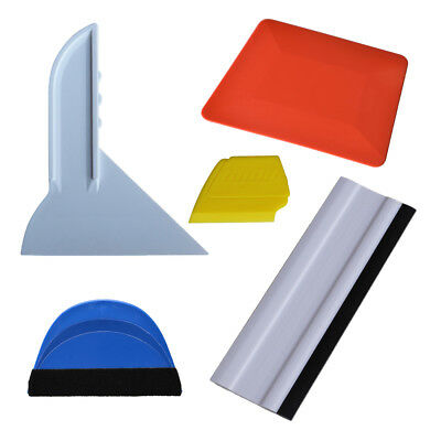 Vinyl Wrap & Tint Tool Squeegee Plastic Scraper for Car Wrapping Window Clean