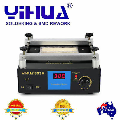 YH853A Soldering Preheat Hot air Machine lead-free BGA Repair Rework Station  AU