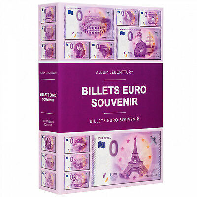 Banknote Album Paper Money Euro Souvenir Currency Collection LIGHTHOUSE 349260