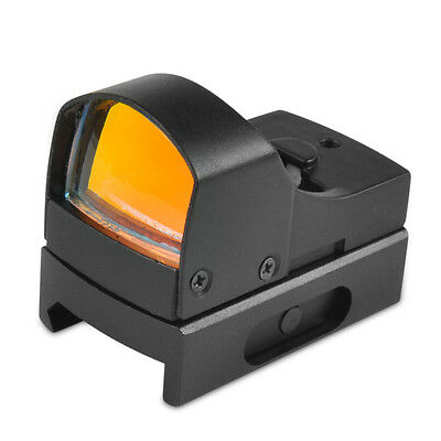 Adjustable Micro Red Dot Sight Mini Compact Holographic Reflex Scope Brightness