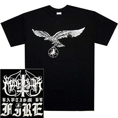 Marduk Baptism By Fire Shirt S M L XL Black Metal Tshirt Official T-Shirt New