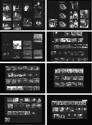 The Doors Jim Morrison in concert 1968, 8 rare photo negative contact sheets
