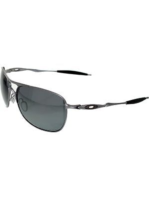 Oakley Men's Polarized Crosshair OO4060-06 Silver Aviator Sunglasses