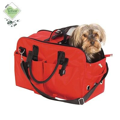Borsa per Cani e Gatti in Teflon Red Edition