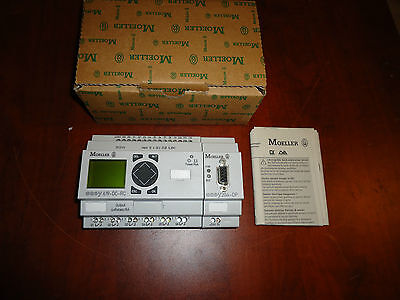Moeller ,easy-Dp-Sl-With Control Relay Basic Unit, Cat#easy204-Dc-Rc New In Box