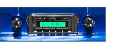 1960-63 Falcon  AM FM Stereo Radio w/ Switch Back AM Dial See Inside 230DF