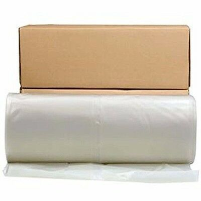 Poly America L P 22400371 Husky 6 Mil Poly Semiclear Sheeting 10'x100' SEMICLEAR
