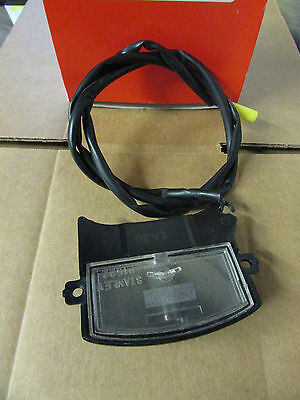 WR250R WR250X License plate light unit OEM Yamaha 32C-84745-00