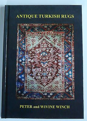 "Hard Cover Limited Edition Book ""antique Turkish Rugs"""