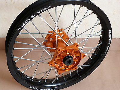 Enduro wheel Hinterrad Rad KTM rear sx  exc GOLDSPEED . 18 x 2,15 NO excel talon
