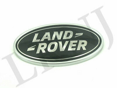 LAND ROVER DEFENDER FRONT KBX GRILLE BADGE GENUINE WIDTH 91MM x HEIGHT 48MM