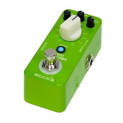 NEW Mooer Mod Factory Micro Electric Guitar Effects Pedal True Bypass