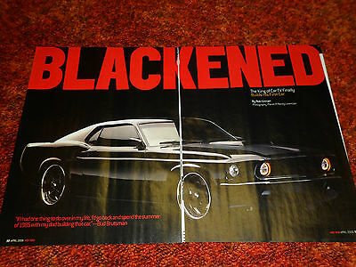 1969 FORD MUSTANG #9 article / ad