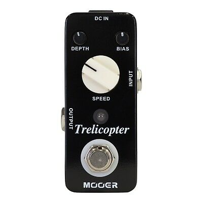 NEW Mooer Trelicopter Optical Tremolo Micro Electric Guitar Effects Pedal