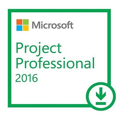 Microsoft Office Project Pro 2016 - 1 PC