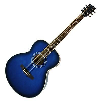 New Sanchez Acoustic Guitar Small Body Steel String Guitar for Beginner