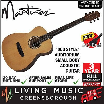 New Martinez 000 Style Acoustic Steel String Guitar with Gig Bag