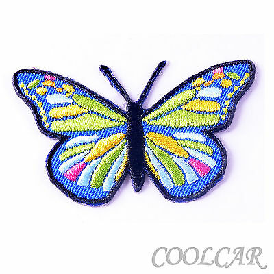 DIY Embroidered Motif Cloth Applique Iron On Patch Sew Clothing Decorations #29