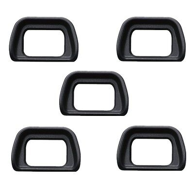 5 Pcs Viewfinder Eyepiece Cup EyeCup FDA-EP10 for Sony NEX-7 NEX-6 A6000 EP10