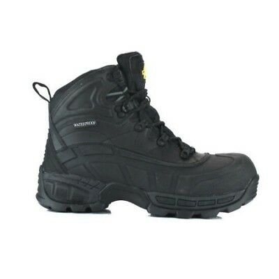 Amblers FS430 Orca S3 Waterproof Safety Work Boots Black Lightweight 6 -12