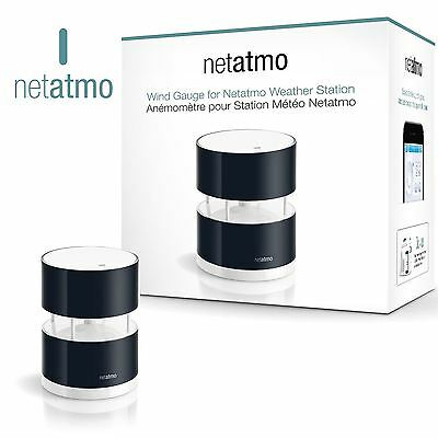 Netatmo Smartphone Wind Speed & Direction Ultrasound Gauge For Weather Station