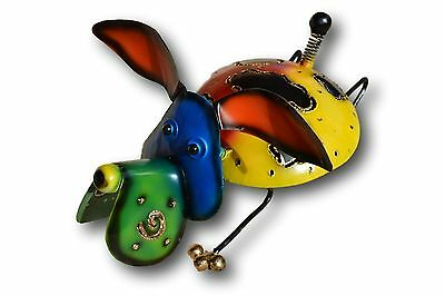 Mosquito Mozzie Coil Holder Dog Metal Art Handmade Burner Patio Various Colours
