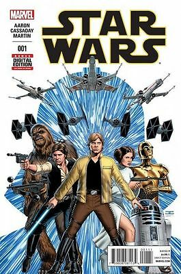 STAR WARS ISSUE 1 - SOLD OUT FIRST 1st PRINT MARVEL COMICS - AARON & CASSADAY