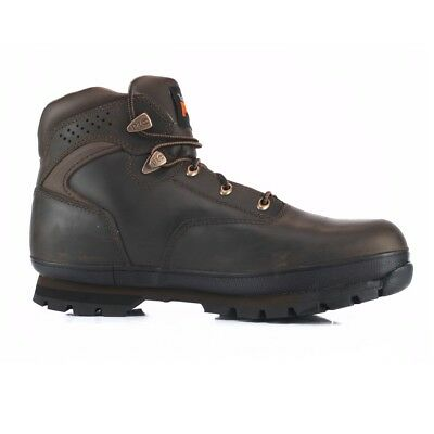 Timberland Pro Euro Hiker Brown 6201065 Steel Toe Work Safety Boots Mens