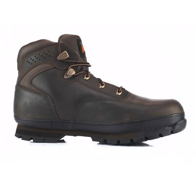 Timberland Pro Steel Toe Work Safety Boots Euro Hiker Brown 6201065 Mens
