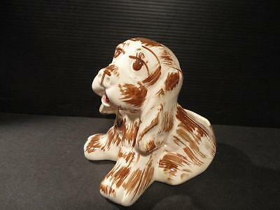 BRUSH McCoy unmarked LOVABLE 1950's PUPPY PLANTER exc...