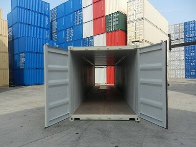 New 40' Double Door Shipping Container