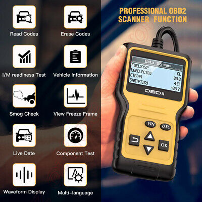 Maxi OBD2 scan CAN BUS Fault Code Diagnostic Reader Scanner tool Vgate iproscan