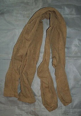 "100% Cotton Long Over the Knee Socks - (Oatmeal) - Colonial/Re-Enacting - ""NEW"""