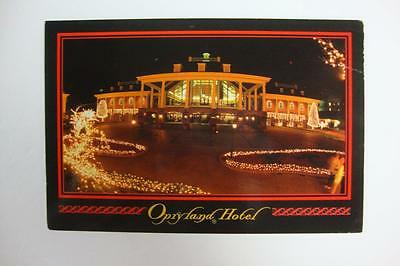 268) Christmas At The Opryland Hotel Nashville Tennessee Posted 1997 Postcard
