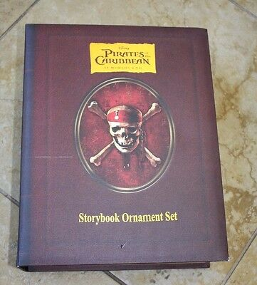 Disney Pirates of the Caribbean Storybook Ornament At World's End - Book ONLY!