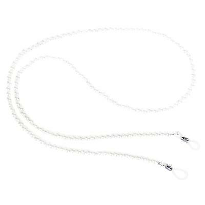 Pearl Beaded Eyeglass Cord Reading Glass Eyewear Spectacle Chain Holder