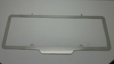 Number Plate Frame Surrounds suit classic and custom stainless steel.