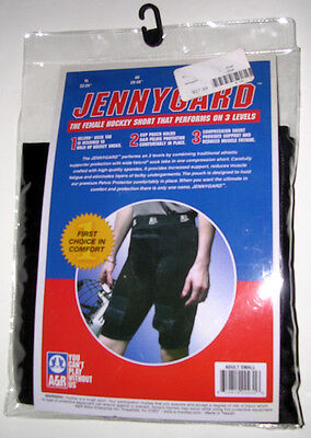 NEW! A&R Brand - Jennygard Black Female Hockey Short Size Small