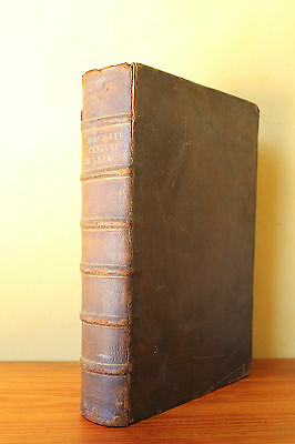 Over 340 Years Old. Leather bound Book. A Century of Sermons, John Hacket. 1675