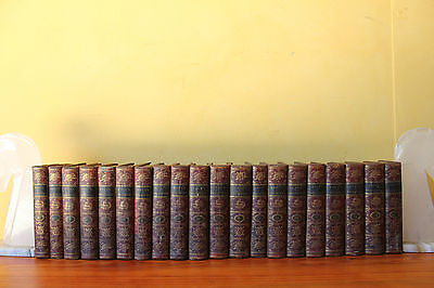 1788 Antique Edition of the Dramatick Writings of Will Shakespeare. 20 Volumes.