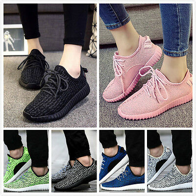 Womens Yeezy Boost Trainers Fitness Gym Sports Running Shock Shoes Sports