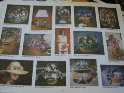 Flowers & Baskets Creating With Silk & Dried Flowers Bk